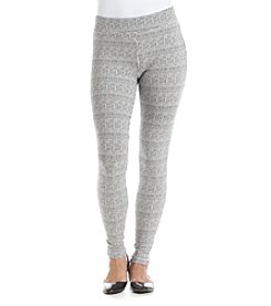 Ruff Hewn GREY Houndstooth Leggings