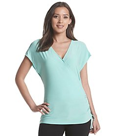 Nine West Jeans® Shirred Surplice Top