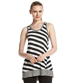 Calvin Klein Performance Back Keyhole Tunic Tank