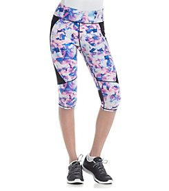 Calvin Klein Performance Asana Printed Crop Leggings