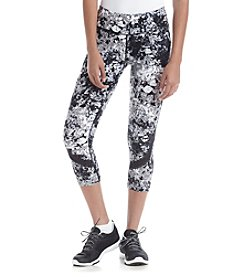 Calvin Klein Performance Oleander Printed Crop Leggings