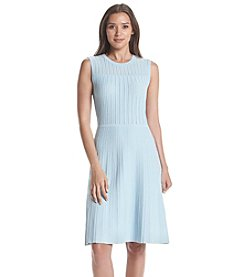 Anne Klein® Fit And Flare Sweater Dress