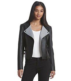MICHAEL Michael Kors® Faux Leather Jacket