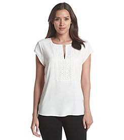 Ivanka Trump® Embroidered Top