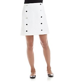 MICHAEL Michael Kors® Buttoned Mini Skirt