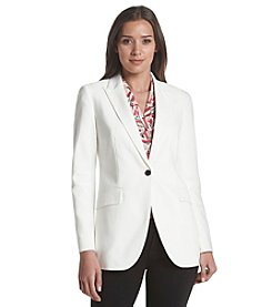 Anne Klein® Long Peak Lapel Jacket