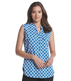 Relativity® Sleeveless Utility Blouse