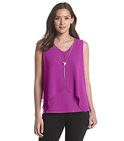 Relativity® Split Front Tank Top