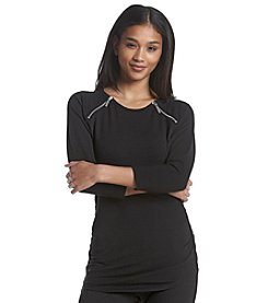 MICHAEL Michael Kors® Raglan Zip Top