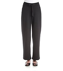 Exertek® Petites' Solid Color Tie Front Pants