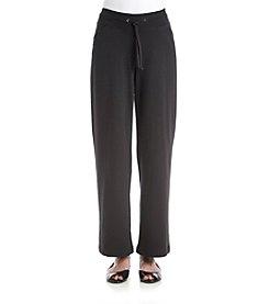 Exertek® Petites' Solid Color Tie Front Pants