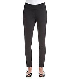 Exertek® Petites' Ponte Moto Pull On Leggings