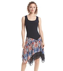 Prelude® Patterned Sarong Bottom Dress