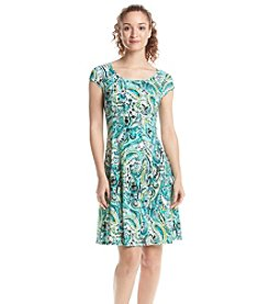 Ronni Nicole® Paisely Patterned Shift Dress