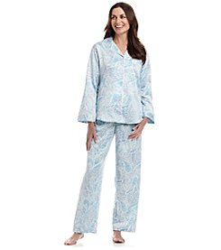 Miss Elaine® Button Up Pajama Set