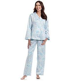 Miss Elaine® Button Up Pajama Set