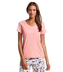 HUE® V-neck Pajama Shirt