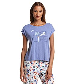 HUE® Pajama Top