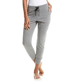 Relativity® Dot Print Jogger Pants