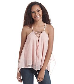 Hippie Laundry Lace Up Tank