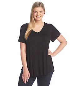 Living Doll® Plus Size Flowy Tee