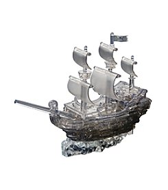 BePuzzled 101-pc. Pirate Ship 3D Crystal Puzzle