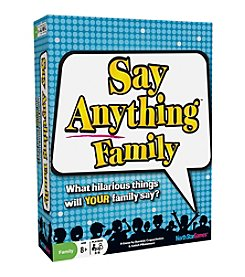 Say Anything Game Family Edition