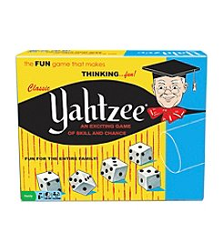 Classic Yahtzee® Game of Skill and Chance