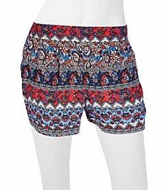 A. Byer Geo Printed Soft Shorts