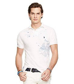 Polo Ralph Lauren® Men's Custom-Fit Graphic Polo Shirt
