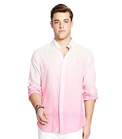 Polo Ralph Lauren® Men's Ombre Linen Sport Shirt