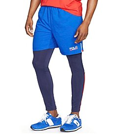 Polo Sport® Men's Mesh-Paneled Athletic Shorts