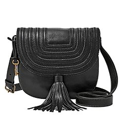 Fossil® Emi Saddle Bag Tassle Crossbody