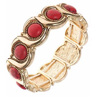Nine West Vintage America Collection® Goldtone Wave Stretch Bracelet