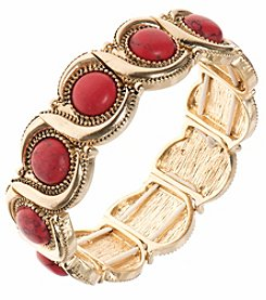 Nine West Vintage America Collection® Goldtone Wave Stretch Bracelet