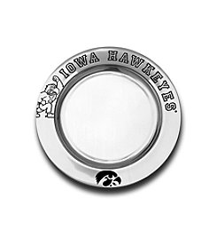 Wilton Armetale® NCAA® University Of Iowa Small Round Tray