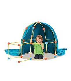 Discovery Kids Flexible Toy Construction Fort 69-pc. Set