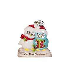 Fitz & Floyd® Hoot Dated First Christmas Ornament