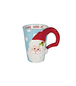 Fitz & Floyd® Hoot Santa Mug
