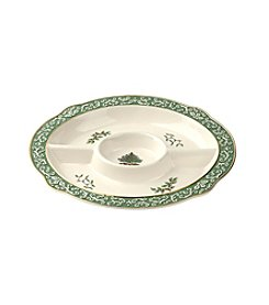 Spode® Embossed Chip n' Dip Tray