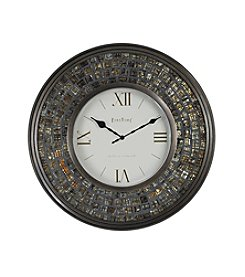 FirsTime Mirrored Mosaic Wall Clock