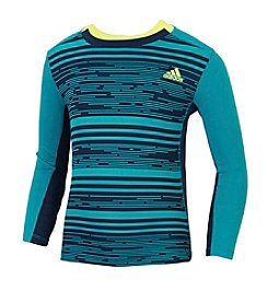 adidas® Boys' 2T-7 Long Sleeve Training Tee