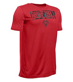 Under Armour® Boys' 8-20 Short Sleeve Basketball Lockup Tee