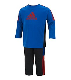 adidas® Baby Boys' Corner Kick Tee And Pants Set