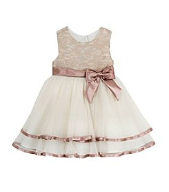 Rare Editions® Baby Girls' Lace Empire Dress