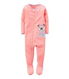Carter's® Girls' 12M-4T One Piece Sleepy Puppy Sleeper