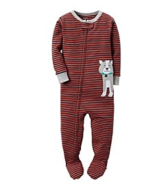 Carter's® Boys' 12M-4T One Piece Striped Dog Sleeper