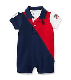 Ralph Lauren Baby Boys' One Piece Banner Shortalls
