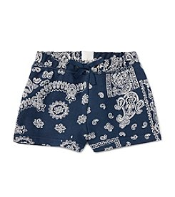 Polo Ralph Lauren® Girls' 2T-6X Bandana Shorts