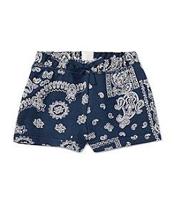 Polo Ralph Lauren® Girls' 2T-6X Bandana Shorts